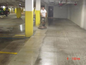 parking garage pressure cleaning Chicago